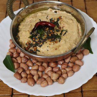 Peanut Chutney Recipe | Verkadalai Chutney