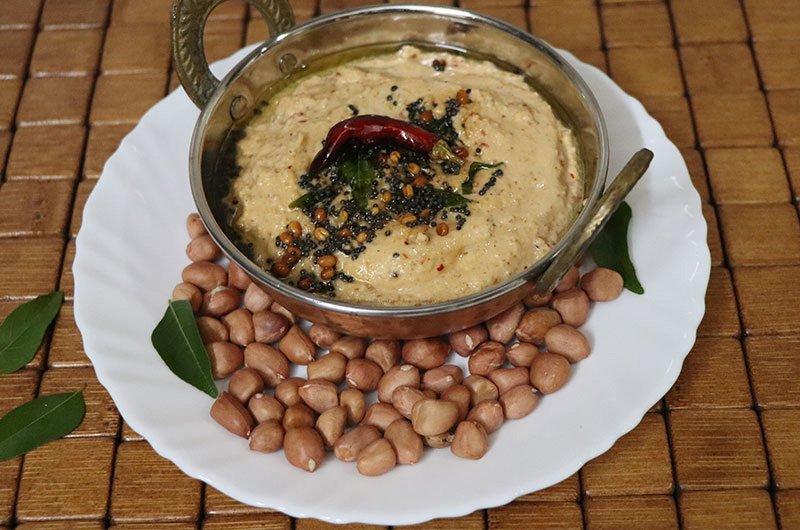 Peanut Chutney Recipe Verkadalai Chutney