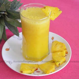 Pineapple Juice | Pineapple Juice Recipe
