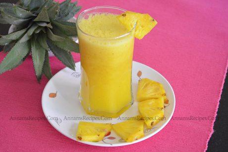 Pineapple Juice Pineapple Juice Recipe