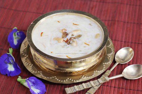 Semiya Javvarisi Payasam Recipe Semiya Javvarisi Payasam