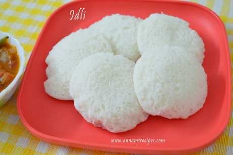 Soft Idli Recipe Chettinad Idli