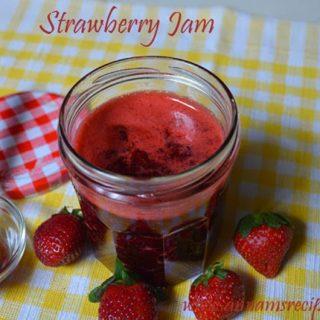Strawberry Jam | Strawberry Jam Recipe