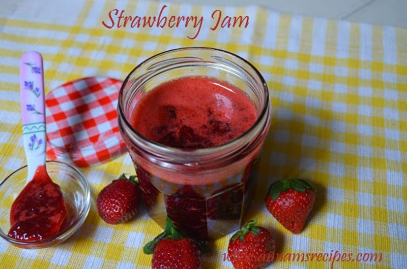 Strawberry Jam Strawberry Jam Recipe