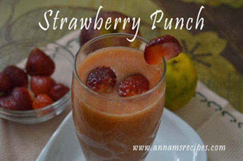 Strawberry Punch Strawberry Punch Recipe