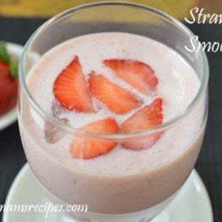 Strawberry Smoothie Strawberry Smoothie Recipe