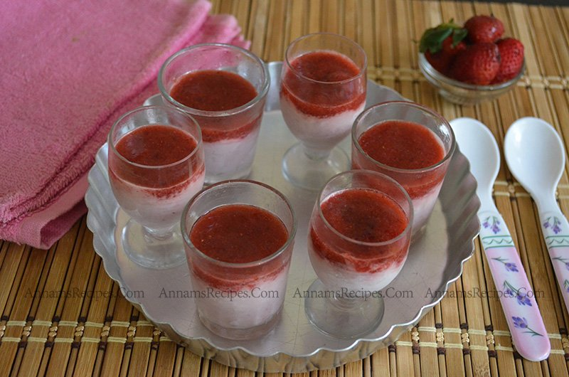Strawberry Mousse Strawberry Mousse Recipe