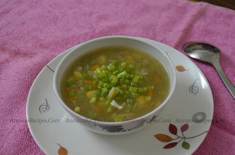 Sweet Corn Soup Sweet Corn Veg Soup