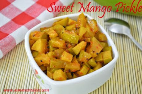 Sweet Mango Pickle Sweet Mango Pickle Recipe