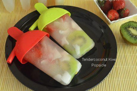 Tendercoconut Kiwi Popsicle Tendercoconut Recipe
