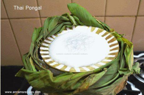 Thai Pongal Festival Menu