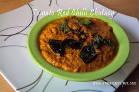 Tomato Red Chilli Chutney Tomato Chilli Chutney Recipe