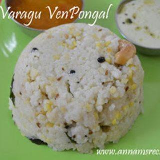 Varagu Ven Pongal | Varagu Arisi Pongal