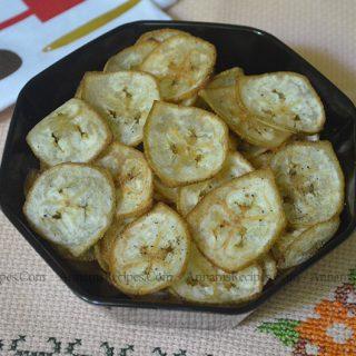 Vazhakkai Chips Recipe | Raw Banana Chips