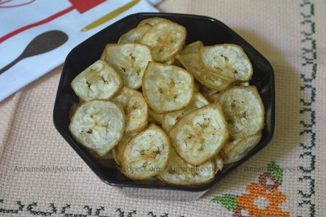 Vazhakkai Chips Recipe Raw Banana Chips