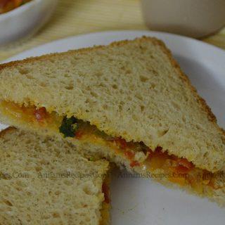 Vegetable Sandwich Recipe Vegetable Sandwich