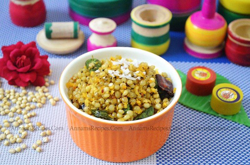 Vellai Cholam Sundal Cholam Sundal Recipe