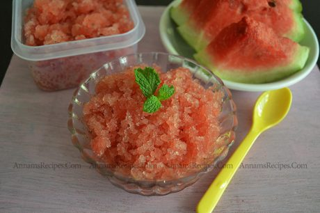 Watermelon Granita Watermelon Granita Recipe