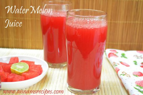 Watermelon Juice recipe Watermelon Juice