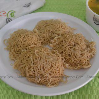 Wheat Idiyappam | Wheat Idiyappam Recipe
