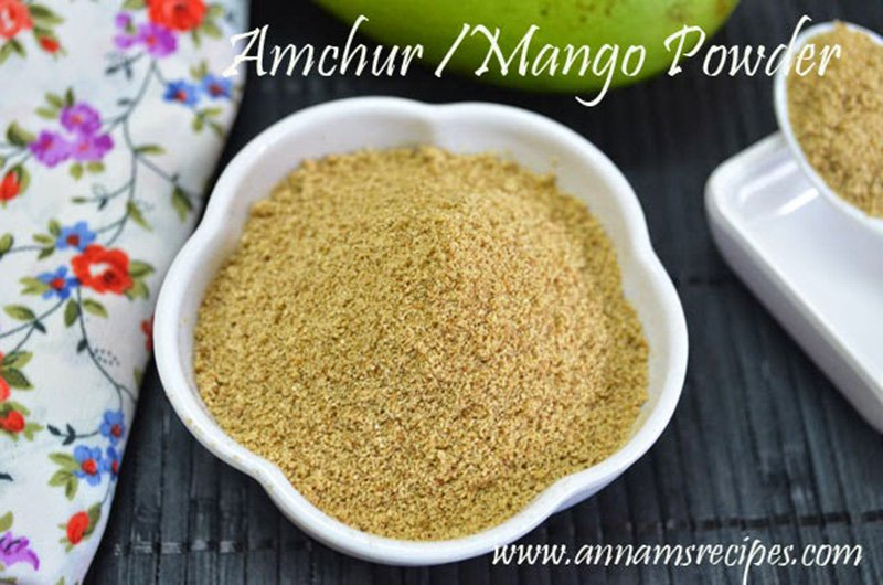 Amchur Dry Mango Powder Dry Mango Powder Recipe