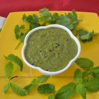 Coriander Mint Chutney for Dosa | Coriander Mint Chutney Recipe