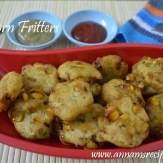 Corn Fritters Indian | Corn Fritters Recipe
