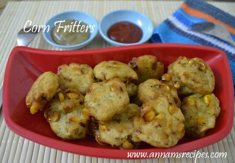 Corn Fritters Indian Corn Fritters Recipe