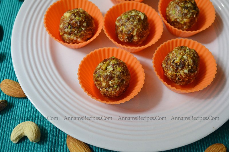 Dry Fruit and Nut Ladoo Dry Fruits and Nuts Ladoo Recipe
