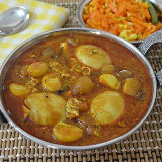 Egg Kulambu Recipe | Chettinad Egg Kulambu for Rice