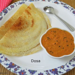How to make Dosa | Dosa Recipe