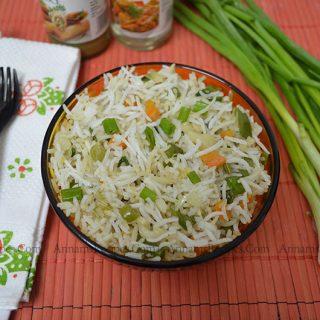 Veg Fried Rice Recipe / Chinese Fried Rice