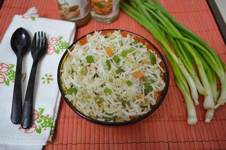 veg fried rice recipe Chinese Fried Rice