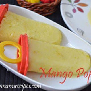 Mango Jam Popsicle | Mango Popsicle Recipe
