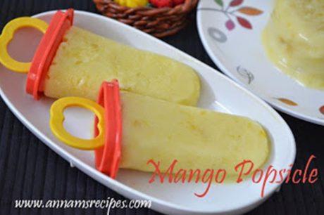 Mango Jam Popsicle Mango Popsicle Recipe