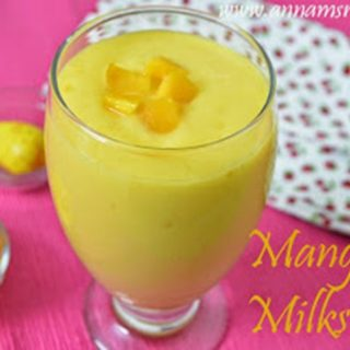 Mango Milkshake | Mango Milkshake Recipe