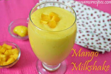 Mango Milkshake Mango Milkshake Recipe