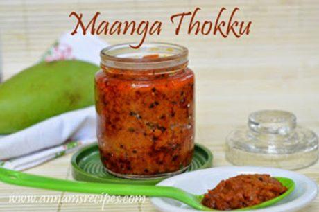 Mango Thokku Mango Thokku Recipe