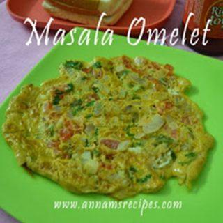 Masala Omelette | Masala Omelette Recipe