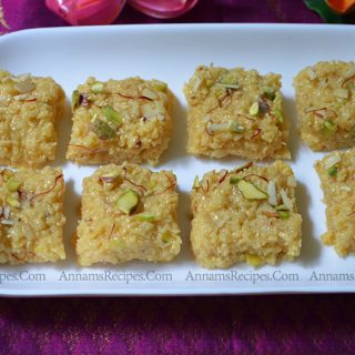 Milk Burfi Recipe | Milk Burfi with Milk at home