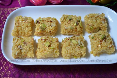 Milk Burfi Recipe Milk Burfi with Milk at home
