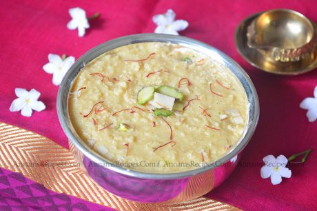 Milk Halwa Milk Halwa Recipe