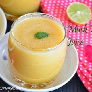 Musk Melon Juice   Musk Melon Juice Recipe