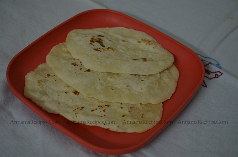 Naan Naan bread without yeast