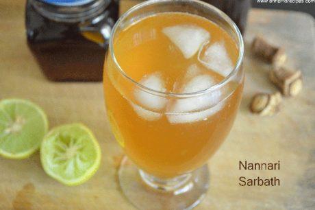 Nannari Sarbath Homemade Nannari Syrup