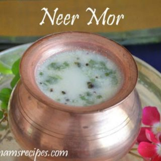 Neer Mor Recipe | Spicy Butter Milk
