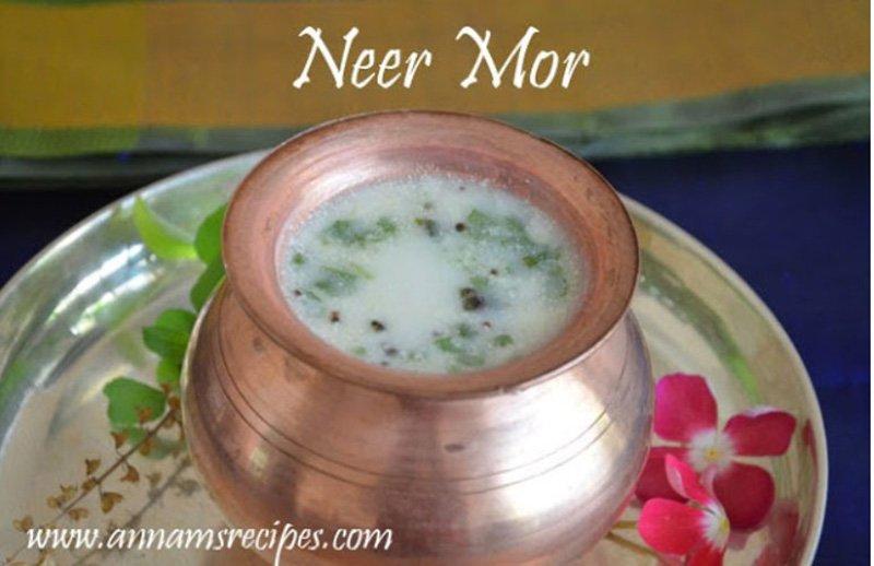 Neer Mor Recipe Spicy Butter Milk