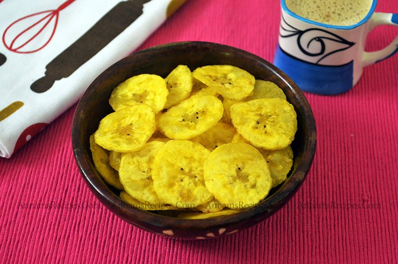 Nendran Chips Nendran Chips Recipe