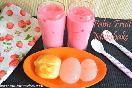 Nungu Milkshake Recipe Nungu Milk