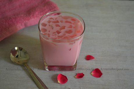 Nungu Rose Milk Nungu Rose Milk Recipe